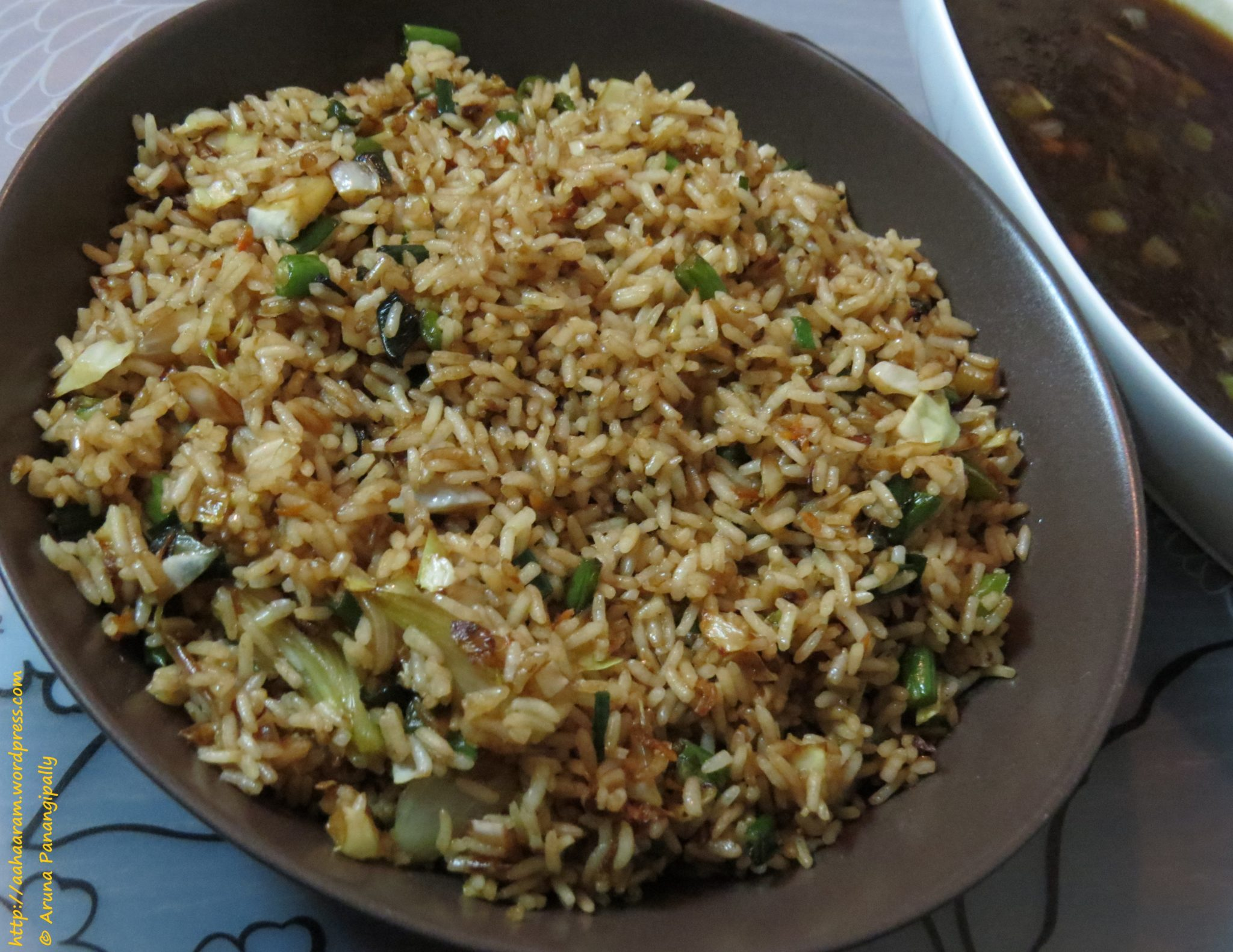 Vegetarian chinese fried rice or vegetable fried rice hram forumfinder Image collections