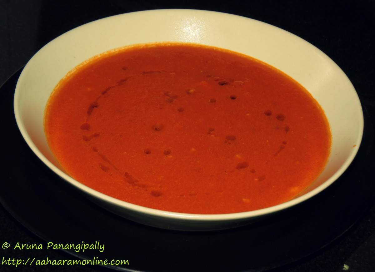 Roasted Tomato Soup - Healthy and Delicious - ãhãram