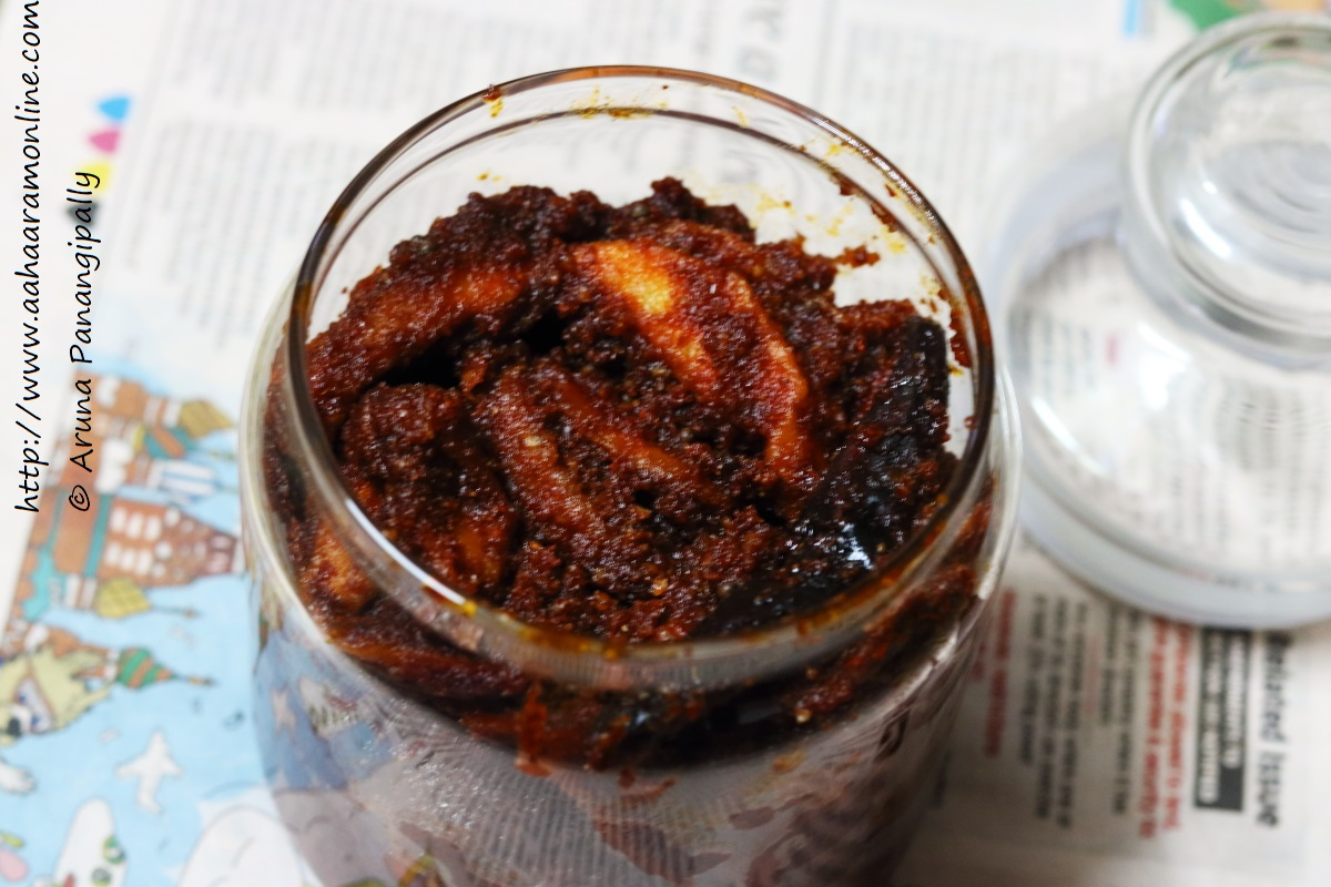 Maagai   Magai   Magaya:  Andhra Dried Mango Pickle