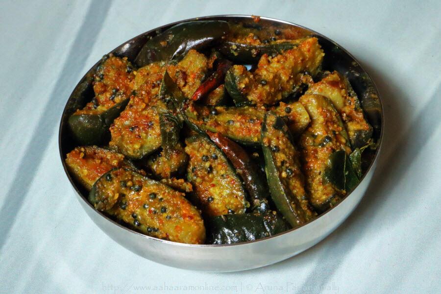 Vankaya Kura | Andhra Brinjal Fry