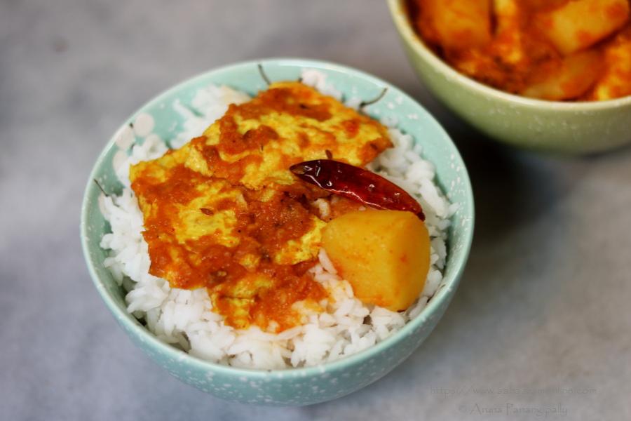 Omelette Er Torkari | Omelet Curry from Bengal