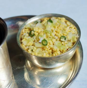 Vada Pappu or Kosambari for Rama Navami