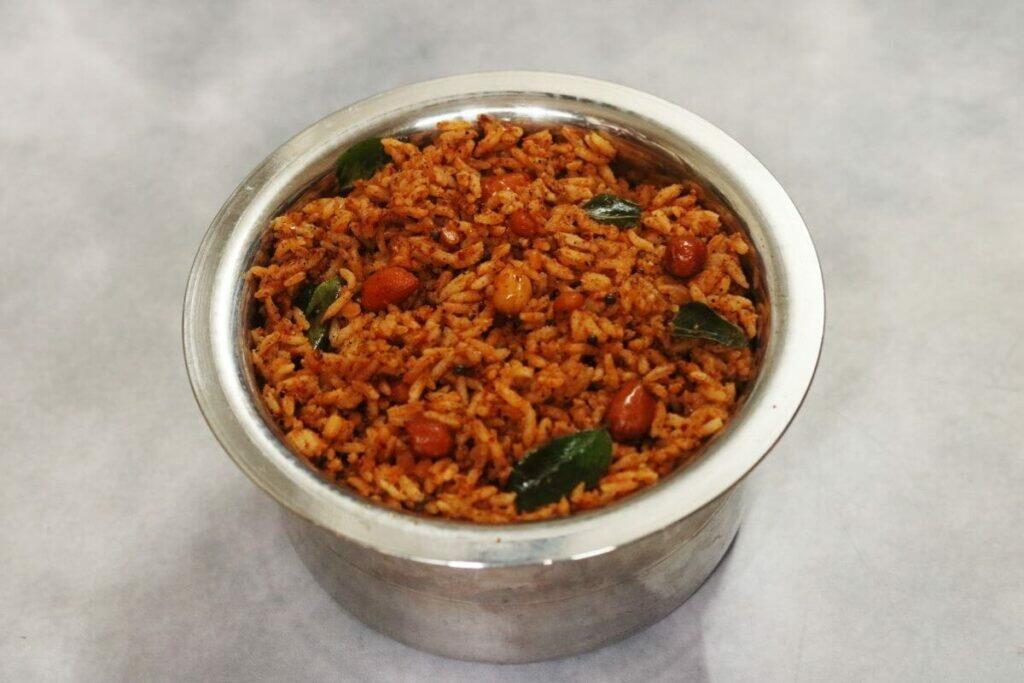 Nuvvula Annam or Sesame Rice from Andhra Pradesh