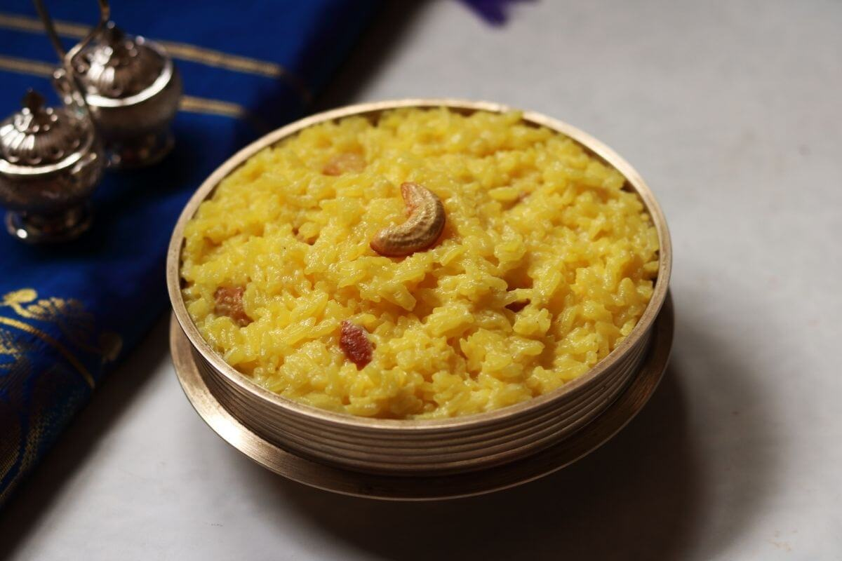 Ksheerannam is a Creamy Rice Kheer from Andhra flavoured with saffron and creamy in consistency