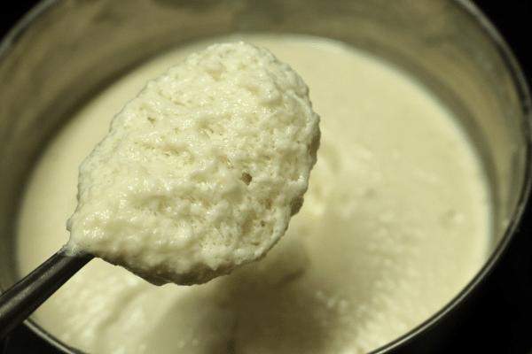 Perfectly fermented idli batter