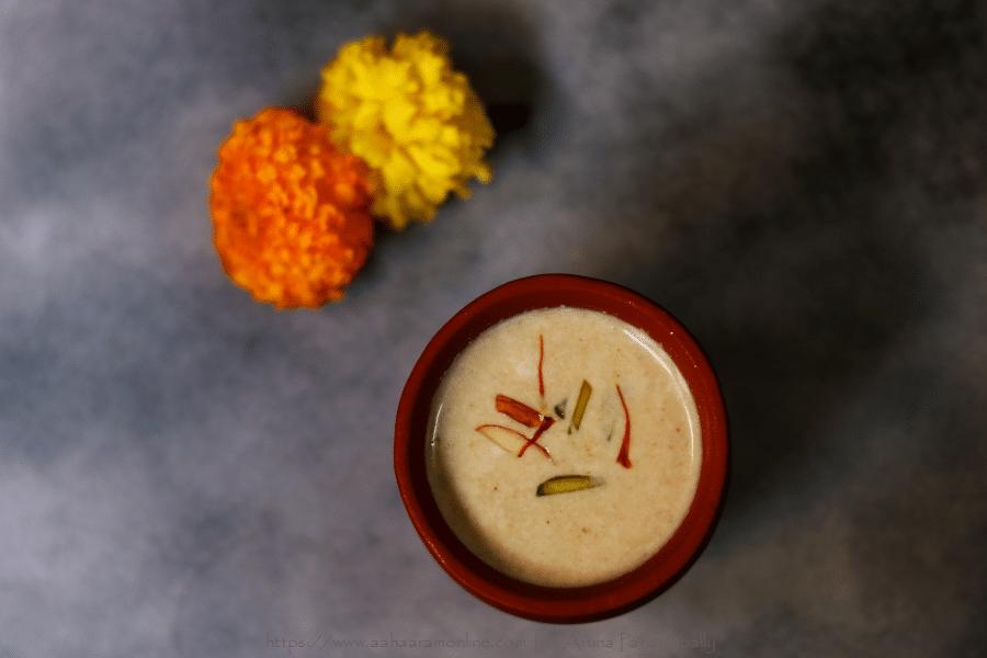 Homemade Thandai (Spiced Milk) to Celebrate Holi