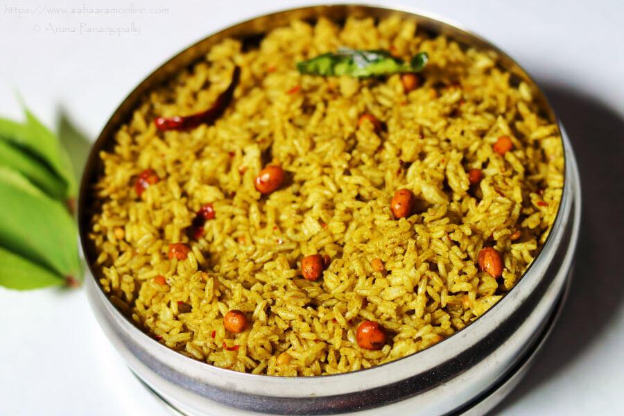 Gongura Pulihora | Gongura Annam | Gongura Rice from Andhra Pradesh