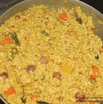 Sambar Rice or Sambar Sadam