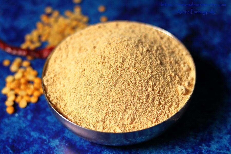 Andhra Kandi Podi   Roasted Dals Powder from Andhra Pradesh and Telangana