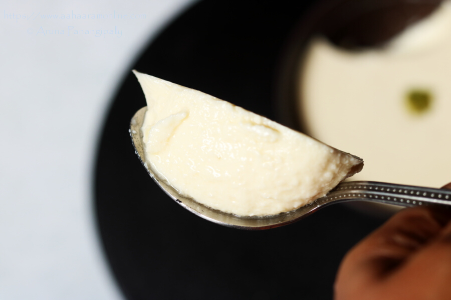 A Spoonful Bhapa Doi
