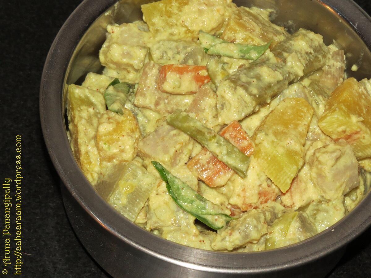 Aviyal - A Recipe from Kerala
