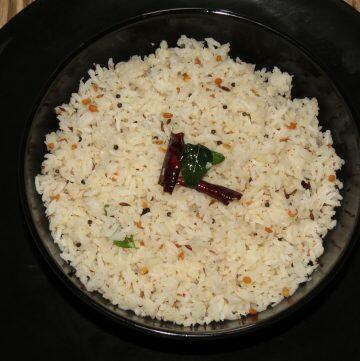 Coconut Rice, Kobbari Annam, Thengai Saadam