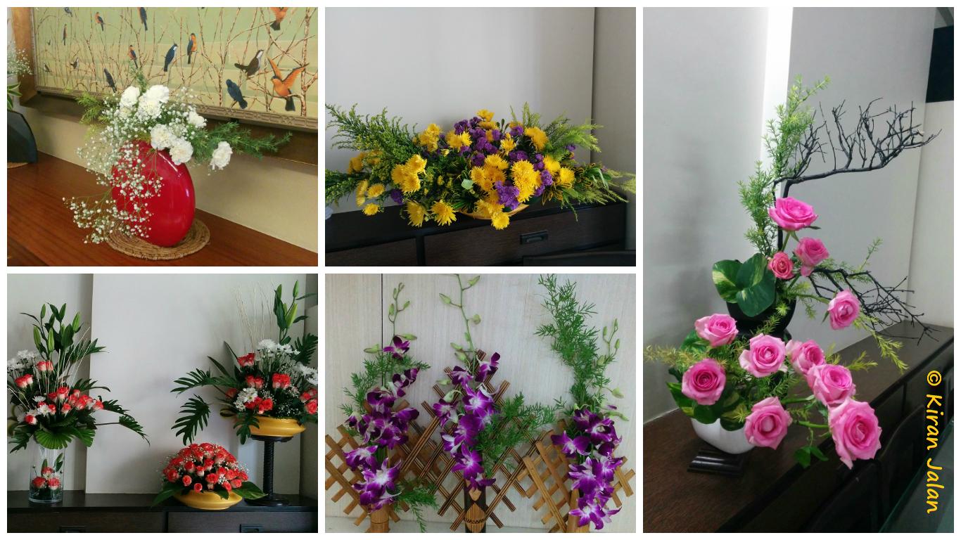 Kiran Jalan - Ikebana Flower Arrangements
