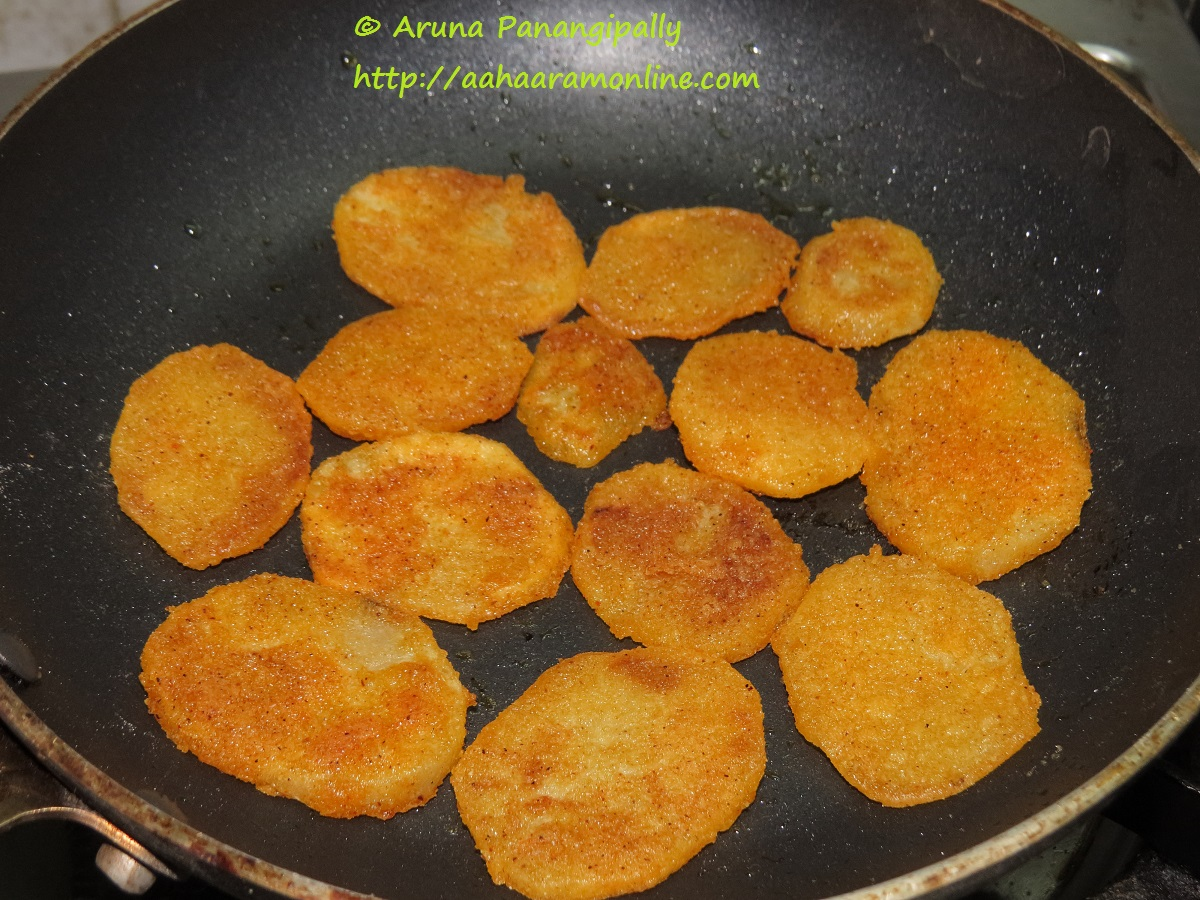 Batata Kaap Crispy Sliced Potatoes A Maharashtrian Recipe Aharam