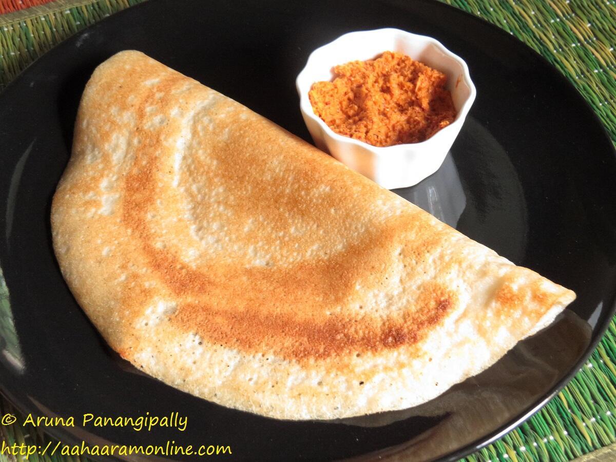 Crispy Flaky Sada Dosa from Mumbai's Udupi Restaurants