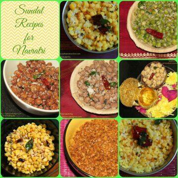 Navratri Sundal Recipes