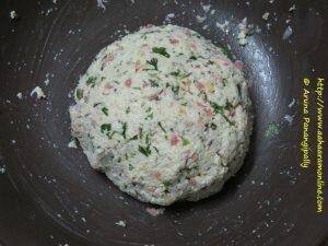 Rava Rotti Dough