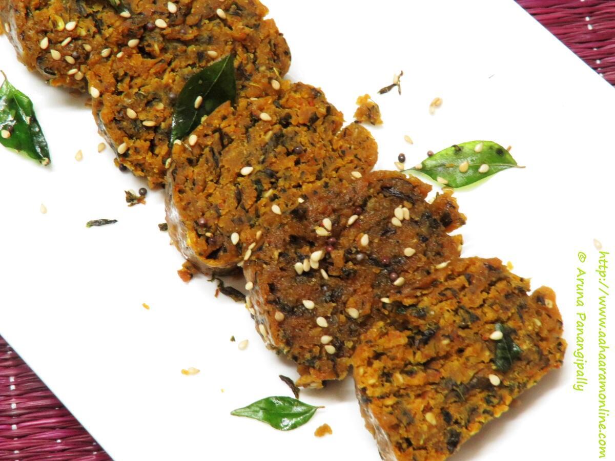Steamed Methi Muthiya   A Gujarati Snack