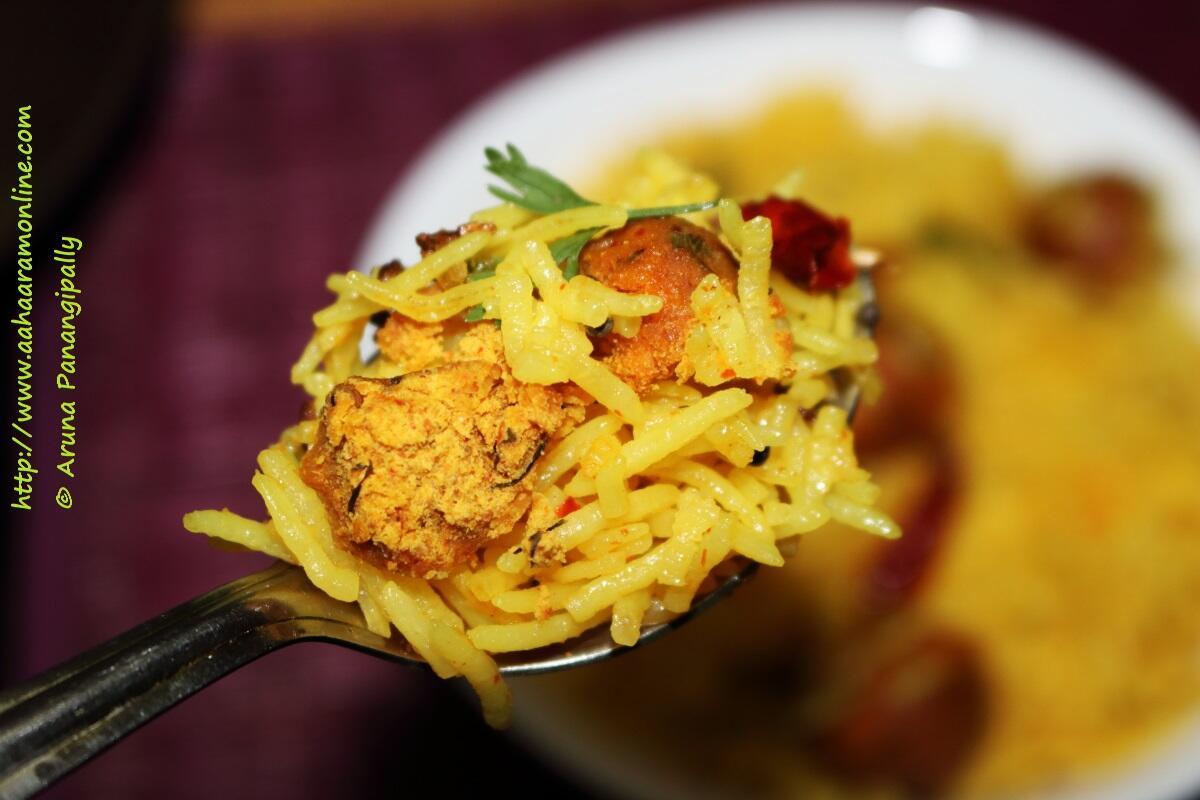 A spoonful of Nagpuri Gola Bhat