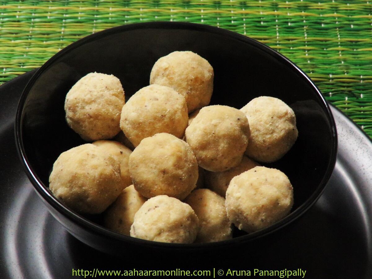 Kesa Mithoi   Assamese Rice Flour Laddu
