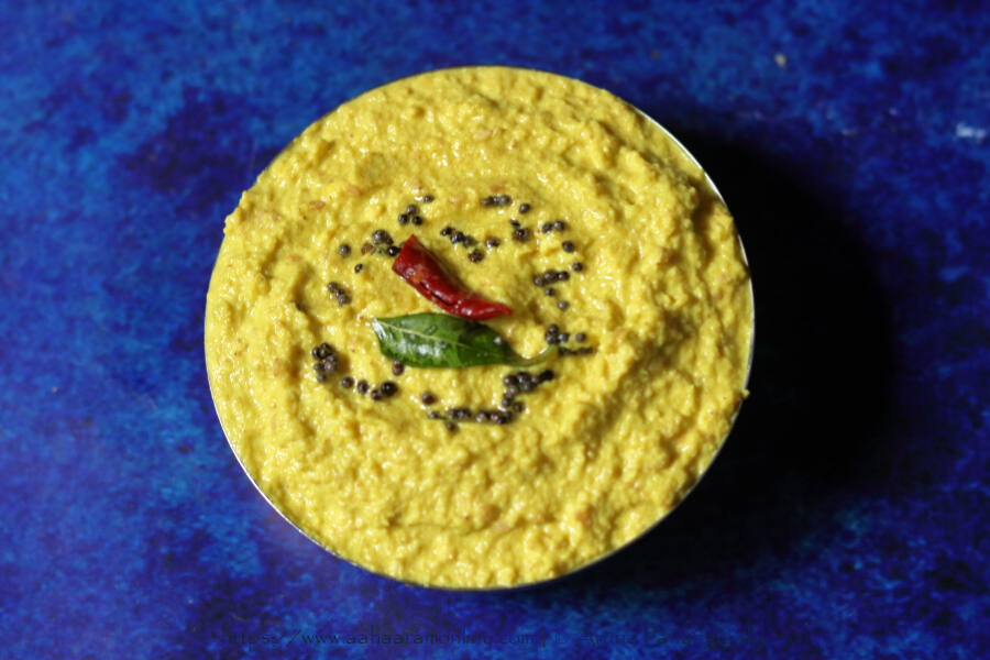Nuvvula Mamidikaya Pachadi | Andhra Kairi Til Chutney | Mango Sesame Chutney