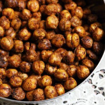 Crunchy Baked Chickpeas