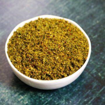 Kothamalli Podi | Spiced Coriander Leaf Powder from Tamil Nadu