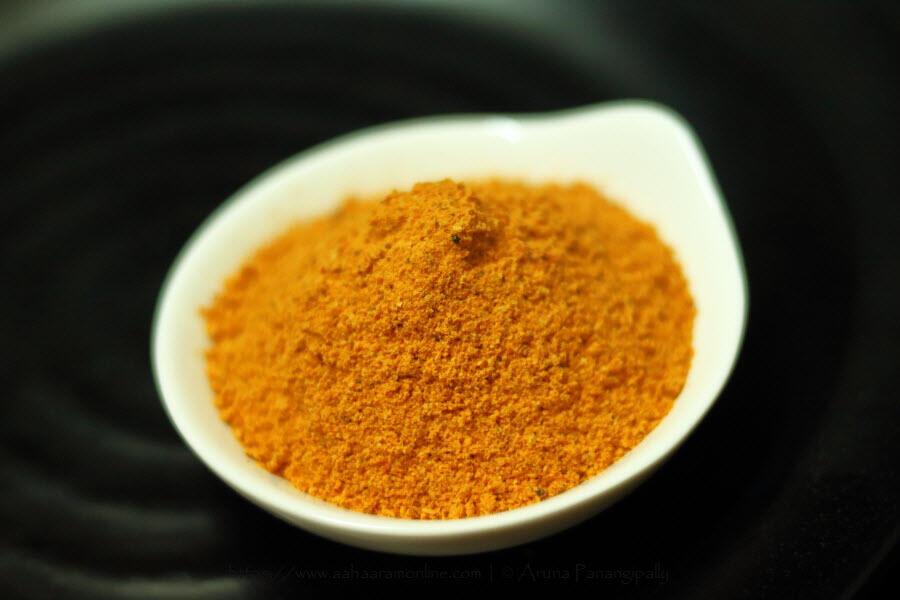 Spicy Idli Chutney Powder