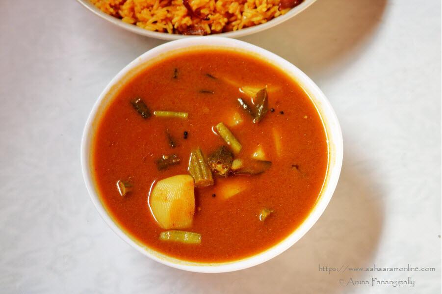 Sindhi Kadhi | Sindhi Vegetable Stew