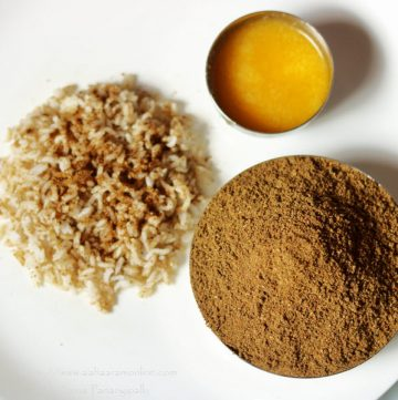 Angaya Podi: Helps in improving metabolism and digestion after childbirth