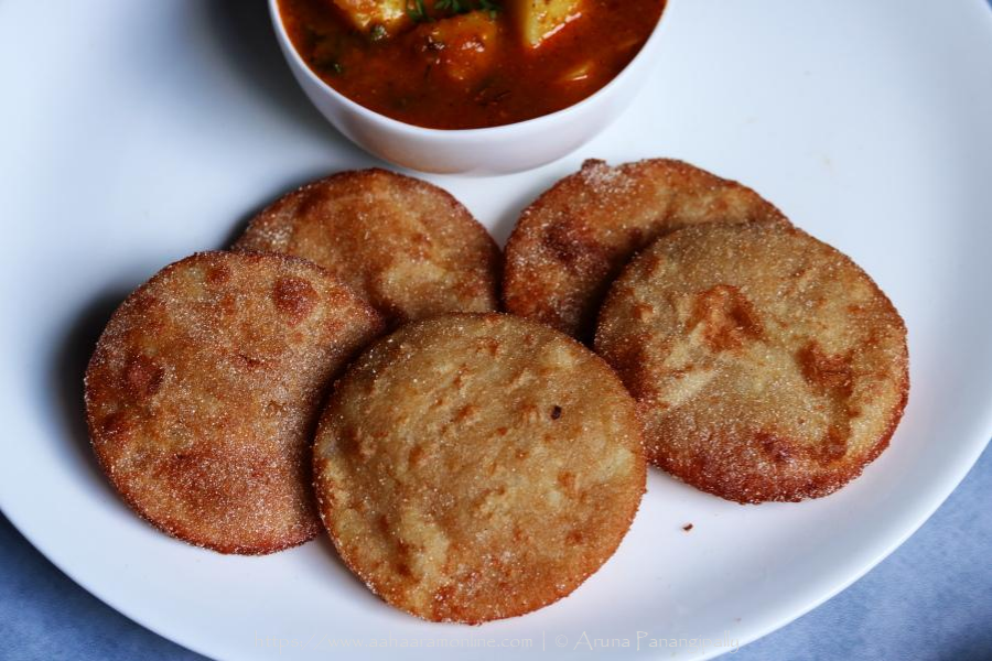 Upvas ki Puri | Rajgira ki Poori