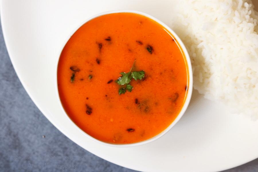 Tomato Saar from Maharashtra