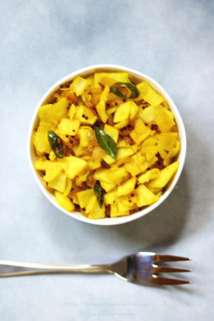 Rice Roti Upma | Rice Bhakri Poha is a gluten-free snack made with rice flour flatbreads