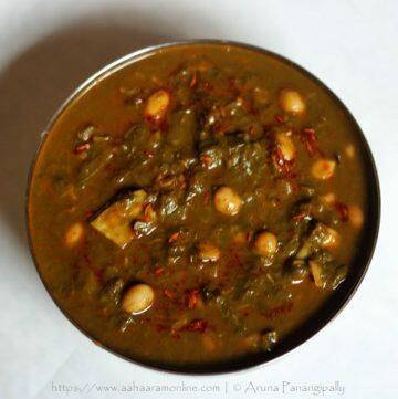 Aluche Fatfate   Aluchi Bhaji   Taro Leaves Curry   Arbi Patte ki Sabzi