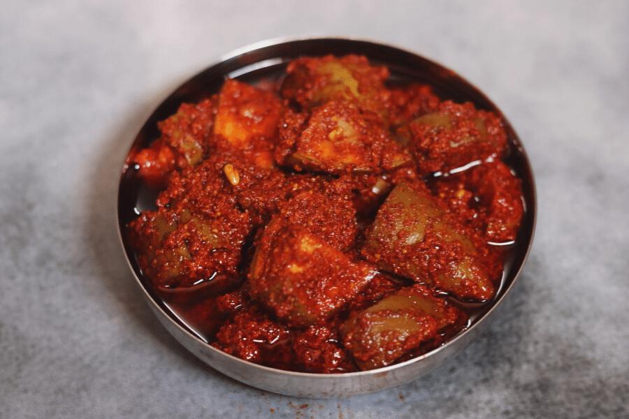 Avakai Pachadi: Spicy Mango Pickle from Andhra Pradesh and Telangana