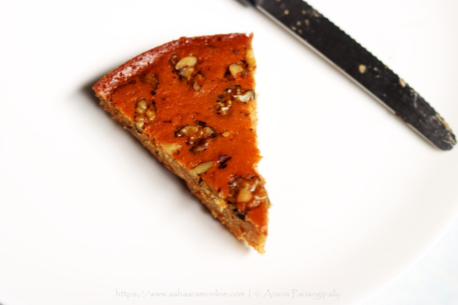A Slice of Armenian Nutmeg Cake