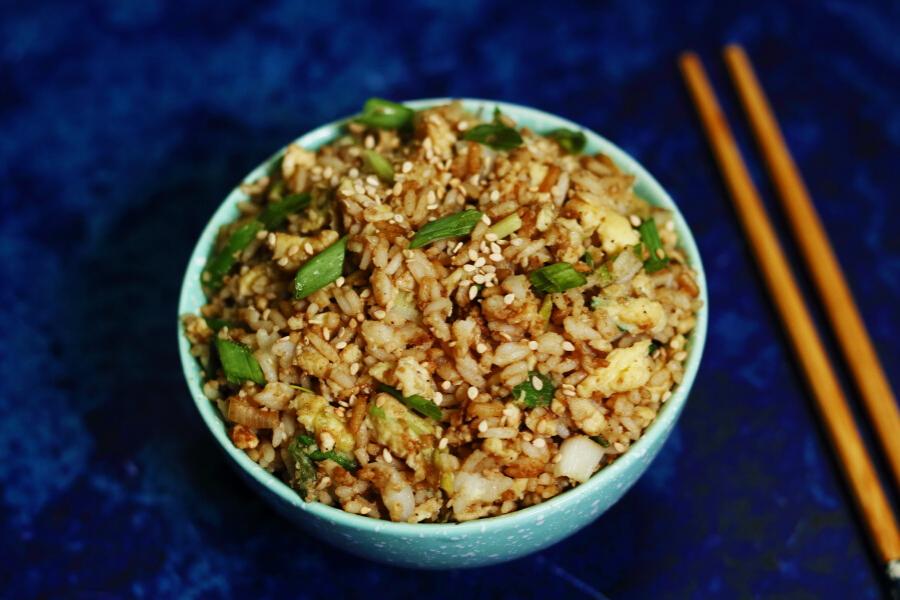 Korean Egg Fried Rice | Gyeran Bokkeumbap
