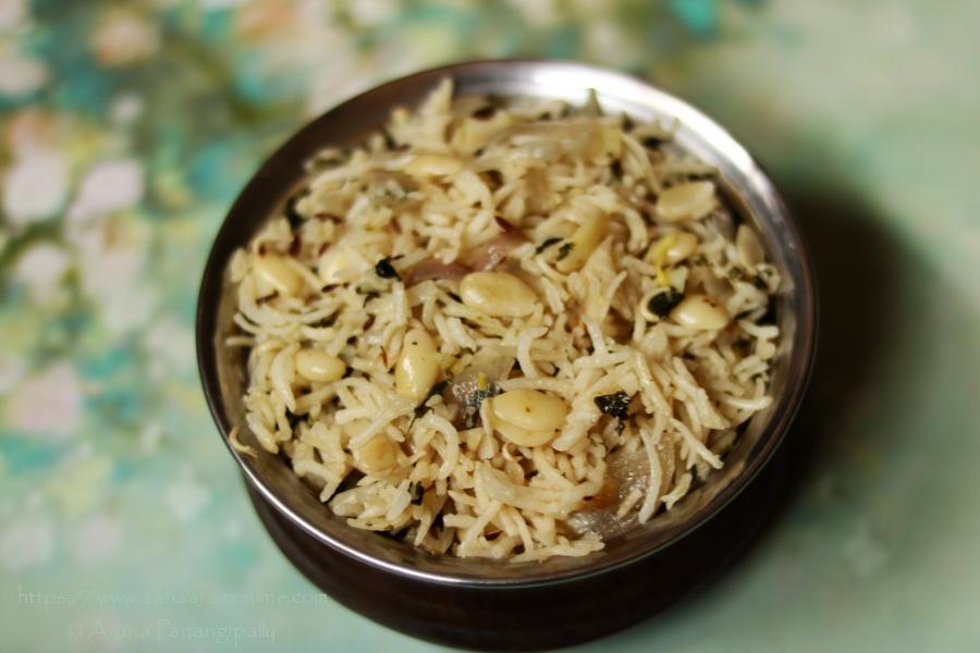 Gujarati Vaal Ni Dal No Pulav