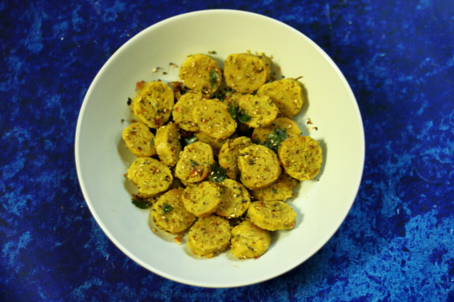 Cabbage Muthia