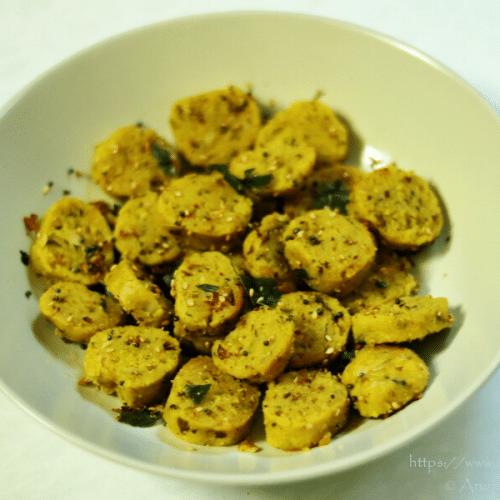 Cabbage Muthiya   Bafela Kobi Na Muthia