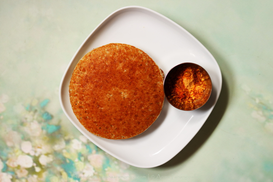 Bun Dosa, a thick pancake made with rice and beaten rice flakes, is a low potassium, low sodium, low phosphorous renal diet recipe