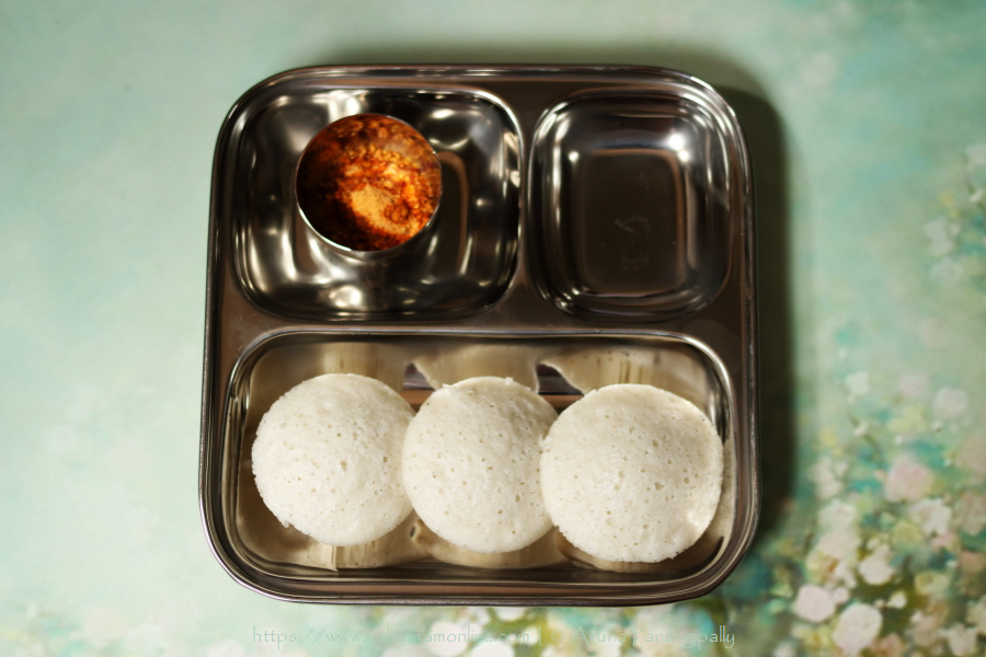 Rice and Poha Idli are steamed dumplings made with a rice and rice flakes (beaten rice).