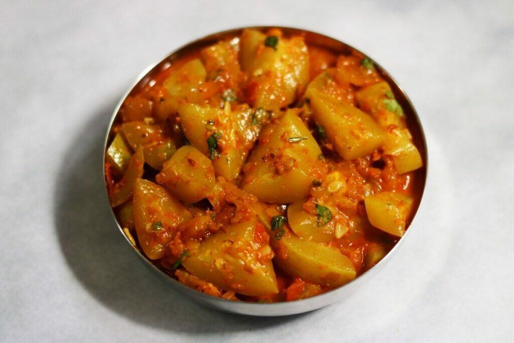Tinde ki Sabzi | Also a Low Potassium, Indian Renal Diet Recipe